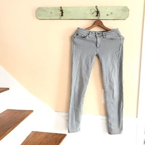 🆕{Listing} AG Stevie Ankle Gray Wash Jeans